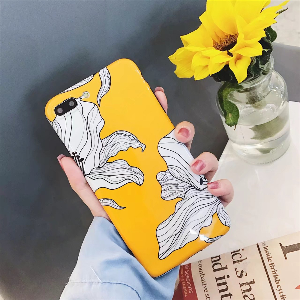 Aliexpress Buy New Fashion Yellow Flowers Mobile Case For