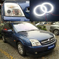 For Opel Vectra C 2002 2003 2004 Excellent Angel Eyes Ultrabright illumination smd led Angel Eyes Halo Ring kit