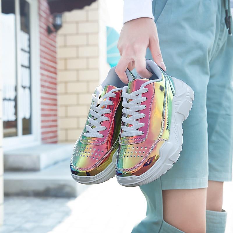 Women Reflective Balenciaca Balanciaga shoes Thick Bottom Platform triple s rainbow lady sport boots tenis masculino famale