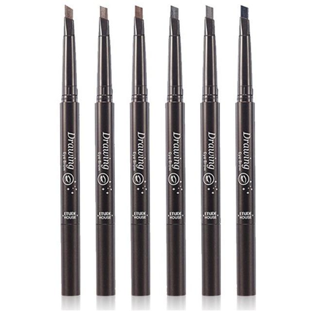 1 PC Women Waterproof Eye Liner Eyebrow Pen Pencil Eyebrow Eyeliner Makeup Cosmetic Beauty Tools 5 Colors 1