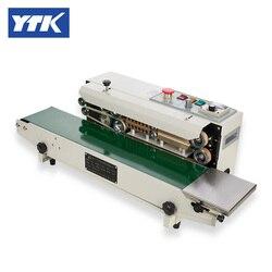 Sellador de bolsas continuo de codificación de tinta YTK FRD-1000-III