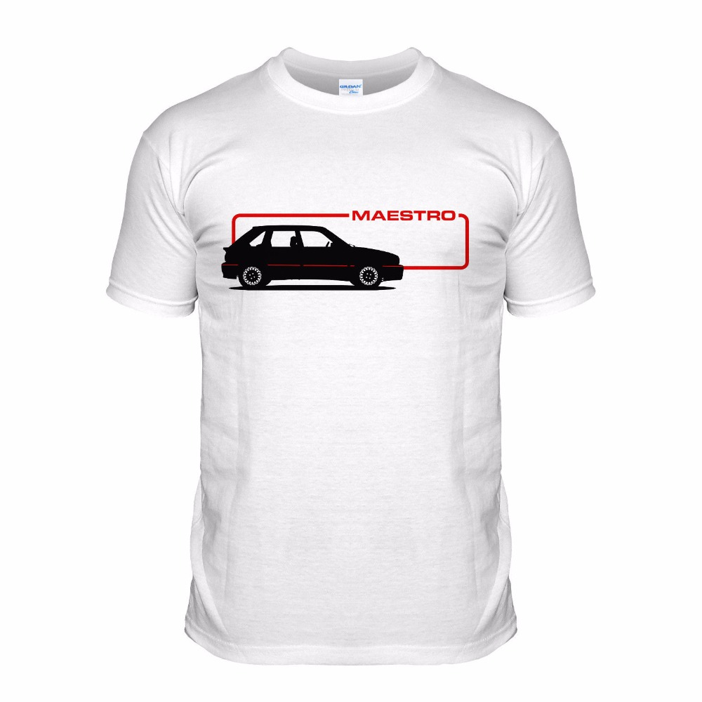 2018 Tops Quality T Shirts Men O Neck Cotton Plus Size T-Shirts Maestro Turbo Car 80S Hot Hatch Classic Casual Tops T-Shirts
