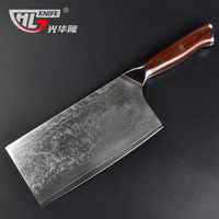 Japanese VG10 Damascus Cleaver Cutter 7.2 Inch Chopping Knife Chef Slicing kitchen knife cuchillos de cocina Chinese cleaver