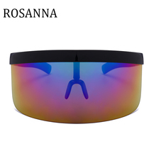 ROSANNA Sexy Oversized Shield Visor Sunglasses Women New Des