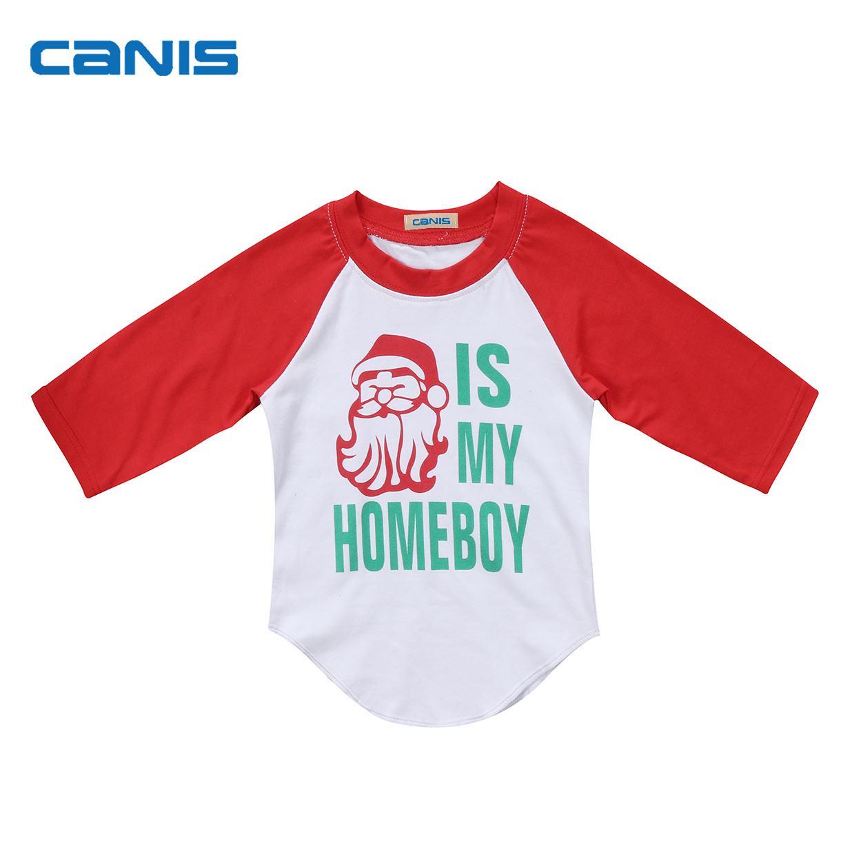 Toddler Kids Baby Boys Cotton Long Sleeve Tops T-shirt Christmas Clothes Casual Kids Cloth