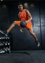 New Men Basketball  Jersey Set Com Shorts Camuflagem Treinamento Desportivo Trajes de Basquete Reversível Tamanho Grande Pode Personalizar
