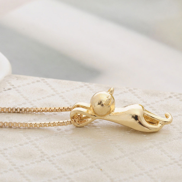 Fashion Cute Cat Necklace For Women