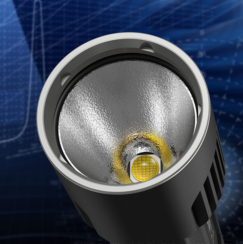 20% OFF NITECORE EC4S EC4SW 2000Lm lumière blanche neutre pratique Portable Super lumineux XHP50 émetteur lampe de poche torche chasse en plein air - 6