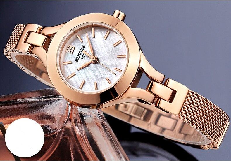 Pulseira de Ouro Relógios de luxo para