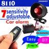 DIY Auto zubehör Nicht-destruktiv installation Einbrecher auto Alarm System schock warnung sirene sound alound 12 v DC CHADWICK 8110