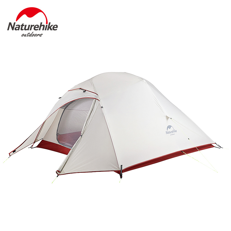 Naturehike Cloud Up 1 2 3 Person Ultralight Tourist Tent Waterproof Wind-proof 20D Silicone Outdoor Camping Tent NH18T030-T