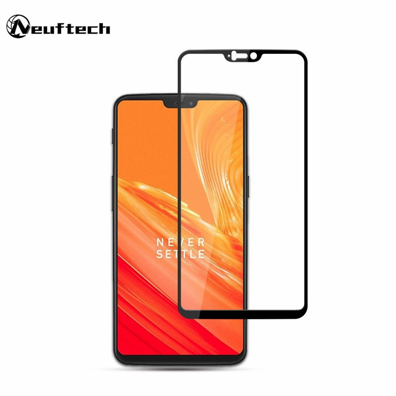 For OnePlus 6 Full cover tempered glass film screen protector For 1+6 5T oneplus 6 5 3 protective glass on one plus 1+6 5T 1+5T