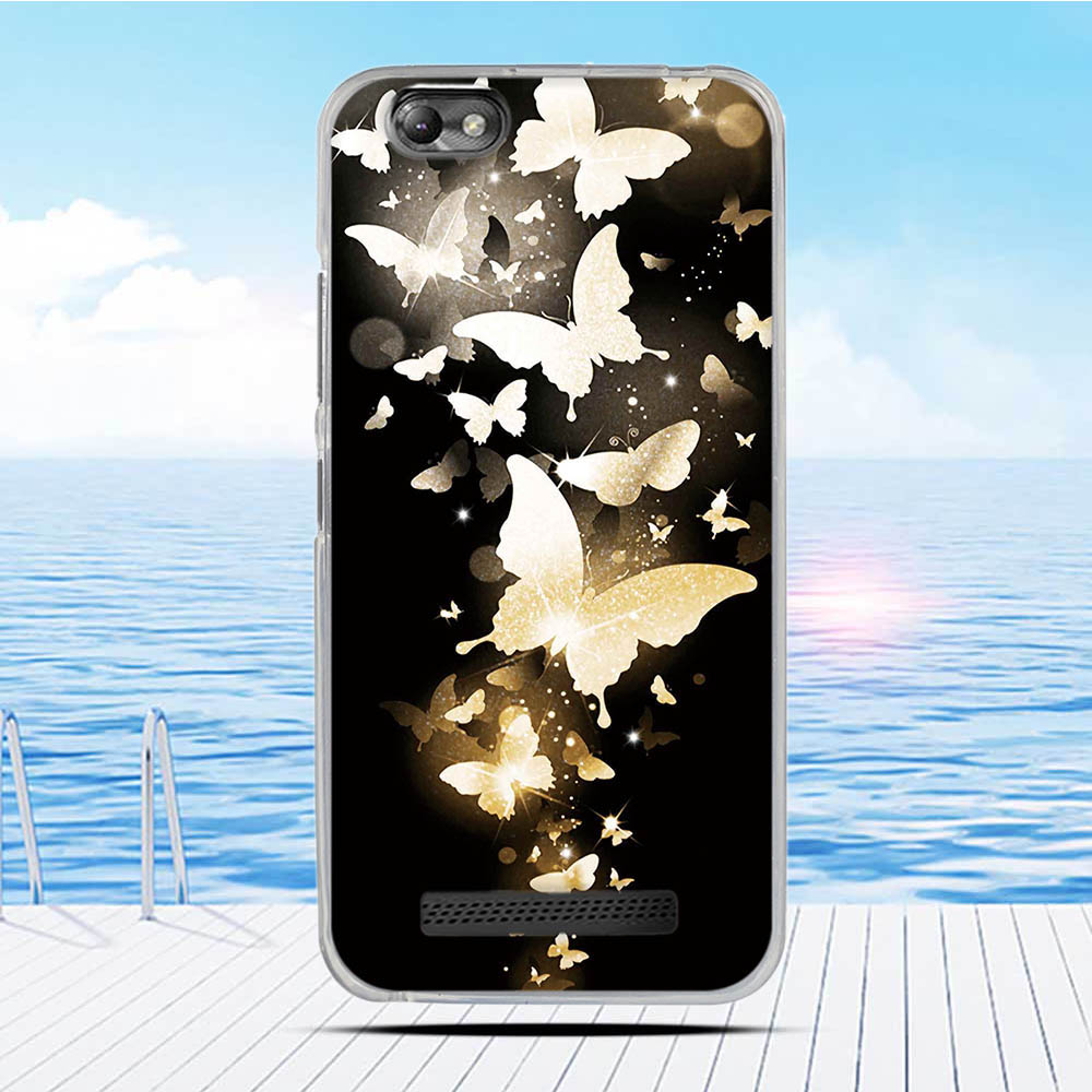 For Lenovo Vibe C A2020 Case Cartoon 3D Relief Printing Pattern Back Cover TPU Soft Silicone Case Coque Capa Funda