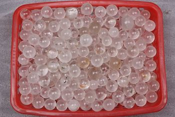 2LB Wholesale White Quartz Sphere Crystal Healing Reiki Chakra grid ball