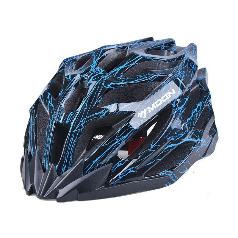 MOON MTB Bike Road Bicycle Ultralight Colorful Cycling Helmet MV-27 Riding Bike Sport Head Protect Bicycle Integrally-molded west biking bike chain wheel 39 53t bicycle crank 170 175mm fit speed 9 mtb road bike cycling bicycle crank