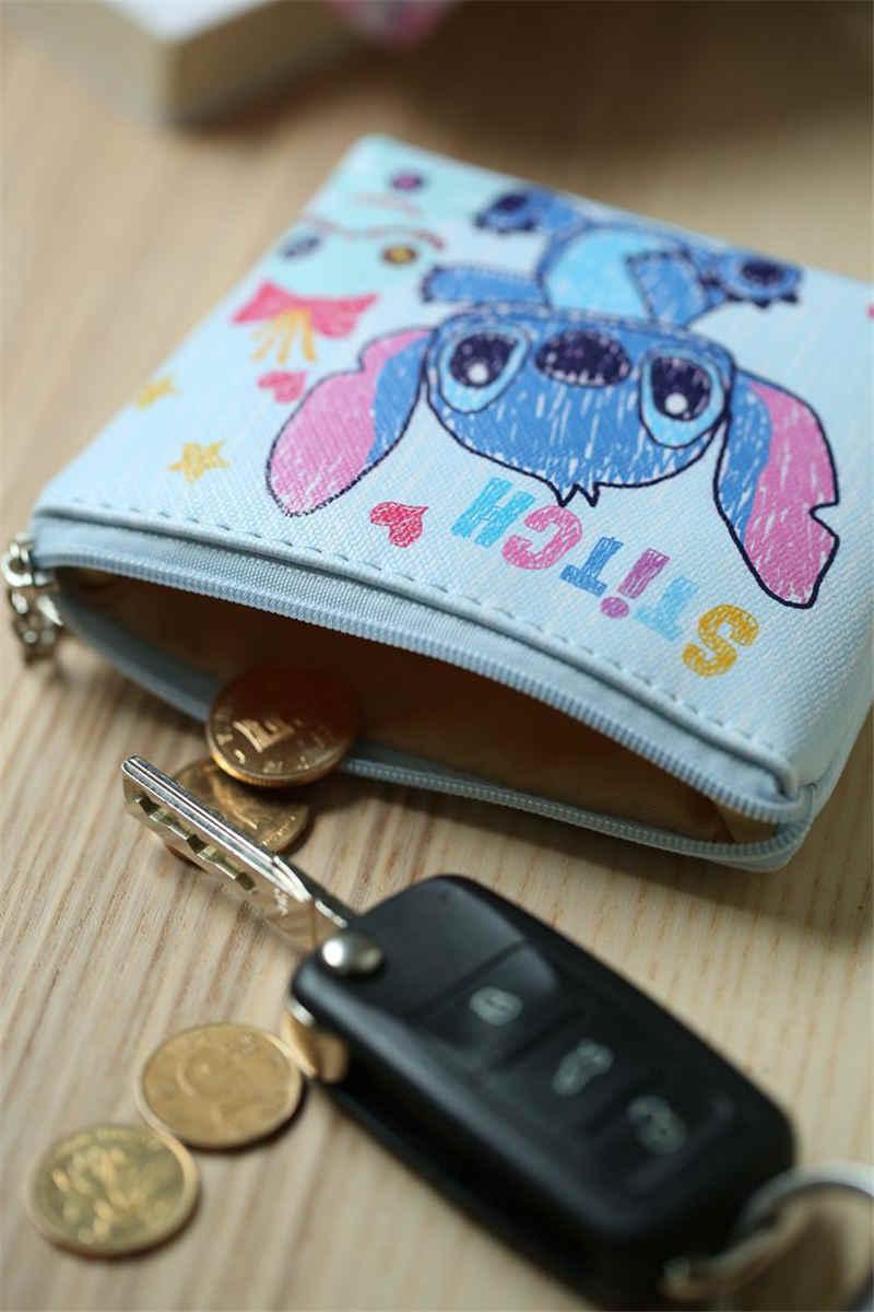 דיסני מיני ילדי cartoon מטבע ארנק מיקי עכבר מטבע תיק בנות מתנות תיק אחסון מפתח תליון תיק