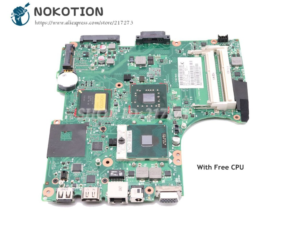 NOKOTION 605748-001 For HP Compaq CQ320 420 620 Laptop Motherboard GL40 Socket 478 DDR3 Free CPU