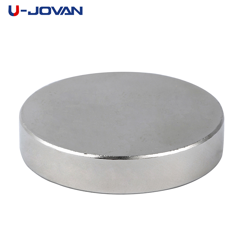 U-JOVAN 1pc 50 X 10 Mm N35 Neodymium Magnet Super Strong Disc Nd-Fe-B Rare Earth Magnet Art Craft 50*10mm