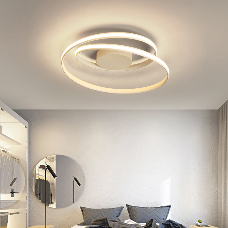 Lustre Chandelier LED Lighting Living room Bedroom Modern Aluminum Wave Chandelier Lighting Surface Mounted Ceiling Chandelier chandelier lighting modern aluminun wave mounted bedroom living room chandelier home deco dimmable ceiling chandelier lightings
