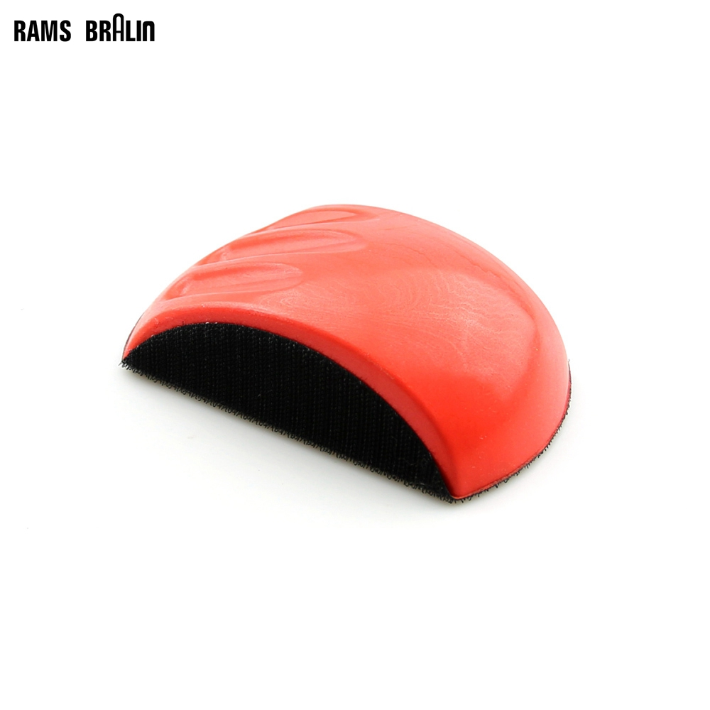 6 Hand Grinding Block Mouse Shaped For Sanding Disc With Lint Backing