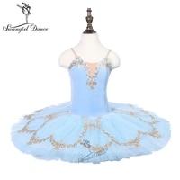 adult bluebird performance stage custome tutu girls pancake tutu ballerina dress costume 18080