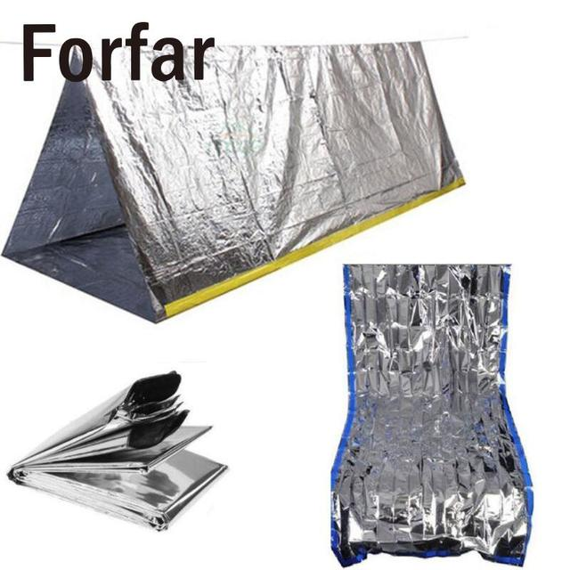 2 Persons Argent Emergency Shelter Tent Outdoor Ultralight Portable C&ing SOS Shelter Mylar Emergency Tube Tent  sc 1 st  AliExpress.com & 2 Persons Argent Emergency Shelter Tent Outdoor Ultralight ...