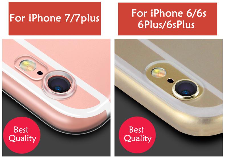 Esamday Ultra Thin Miękka TPU Gel Oryginalny Przezroczysty Case Dla iPhone 6 6 s 7 7 Plus 6 sPlus Crystal Clear Silicon Obejmują Przypadki Telefonów 2