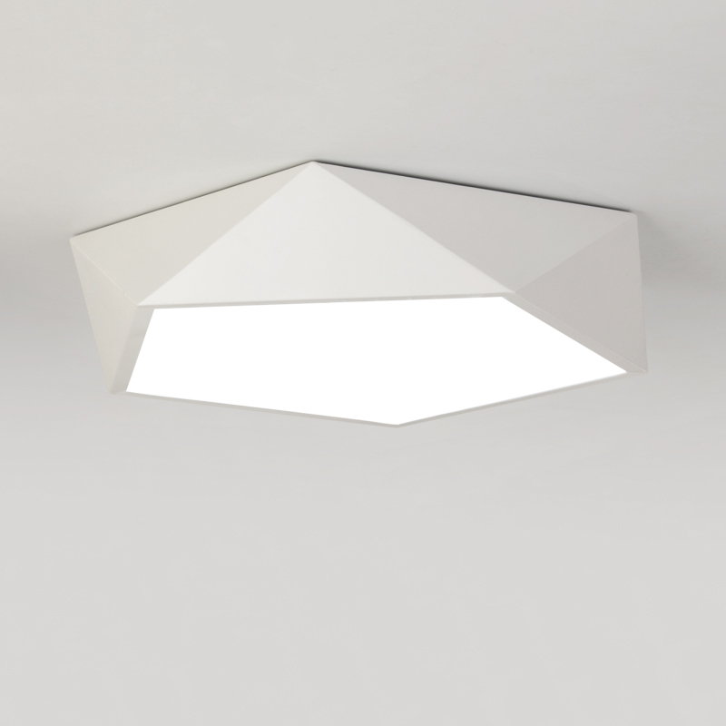 Creative Nordic geometry LED ceiling light modern bedroom dining room led Lighting Luminaire lamp