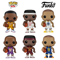 Funko pop 6 tipos 10 cm kobe bryant nba basketball super star player curry action figure coleção versio com o original caixa
