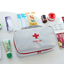 Portable Medical Kit, First Aid Waterproof Automobile Outdoor Travel Survival Sundry Collection Kit