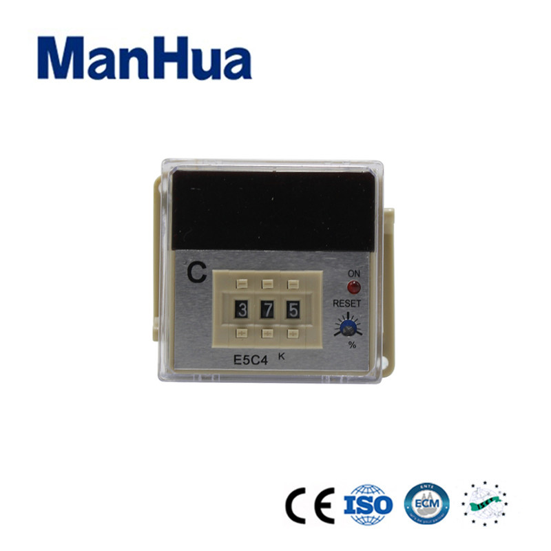 Manhua New products 2017 Innovative Product LCD Digital Pid Temperature Controller E5C4 Plug in Types Temperature Recorder Smart