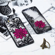 Phone Case For Xiaomi Mi 5 Case Silicone Cover Xiaomi Mi 5 Case Flower Capas Back Cover TPU +PC Lace Rose Case For Xiaomi Mi 5 все цены
