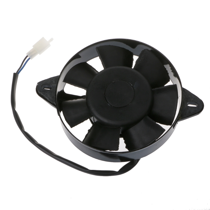 Electric Radiator Cooling Fan For Chinese 200cc 250cc ATV Quad Go Kart Buggy UTV Motorcycles Engine Fans ...
