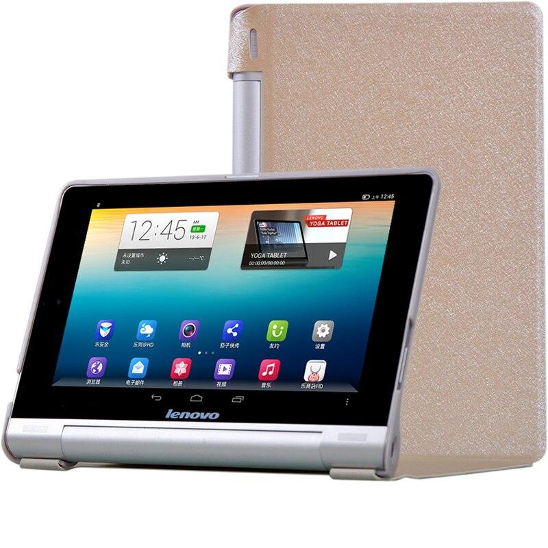 Тонкий Шелковый флип чехол из поликарбоната + ПУ кожи для Lenovo Yoga B6000 B6000 H B6000 F 60043 60044 8 дюймов Чехол + пленка + ручка|Чехлы для планшетов и электронных книг|   | АлиЭкспресс