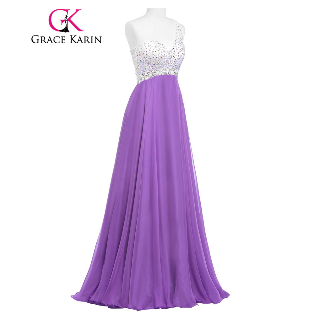 Real Picture 2017 Prom Dresses Grace Karin Medium Orchid One ...