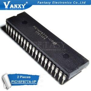 2 шт. PIC16F877A-I/P DIP40 PIC16F877A DIP 16F877A DIP-40 улучшенные флэш-Микроконтроллеры новые и оригинальные IC