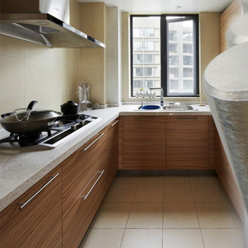 Increíble Puertas Dobles De Acero Inoxidable Para La Cocina Al Aire ...