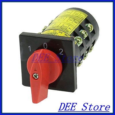 HZ5B-10/3 AC 380V 3KW 1-0-2 12 Positions Control Combination Switch tp760 765 hz d7 0 1221a