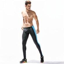 Sport Leggings for Man Ankle Length Compression Pants Mens Running Tights Legging Licras Deportivas Hombre