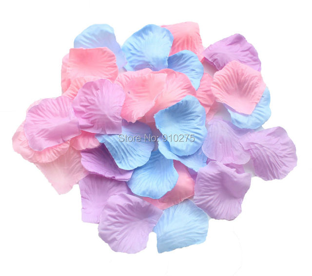 600 lavender blue pink silk rose petals artificial flowers wedding 600 lavender blue pink silk rose petals artificial flowers wedding centerpieces decoration confetti party favor mightylinksfo