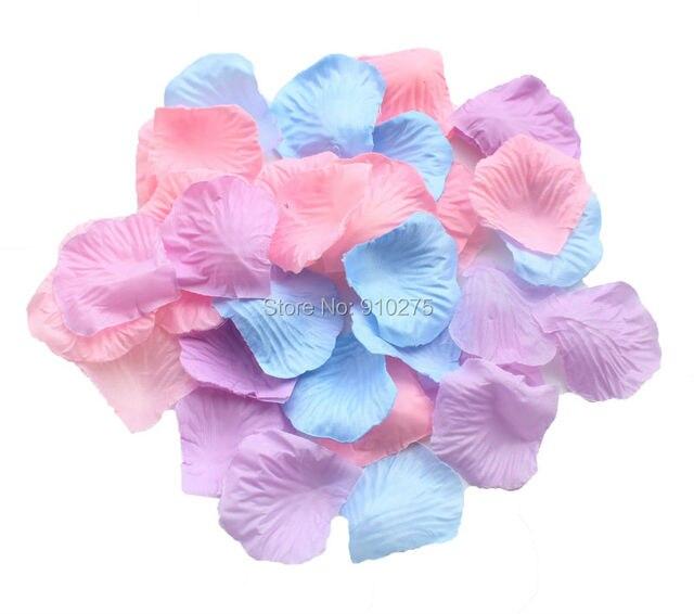 1a55a293d7ee57 600 lawenda niebieski różowy jedwabne płatki róż sztuczne kwiaty dekoracje  ślubne dekoracyjne konfetti Party Favor