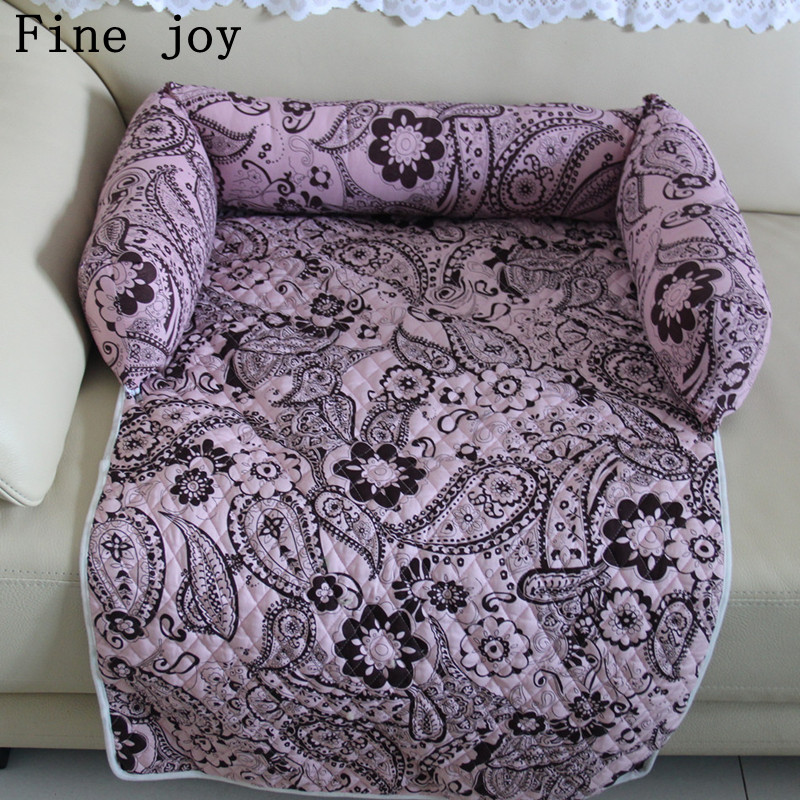 Fine Joy Pet Beds Sofas Blanket Floral Print Multifunction Dog Mats Pet Car Seat  Dog Mats Pet Car Seat Cover Sofa Mats