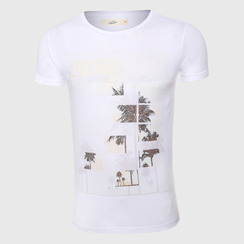 Verano hombres imprimir camiseta hombres manga corta Camiseta skate fit Top  Hawaii moda o Masajeadores de cuello ropa masculina en Camisetas de La ropa  de ... 76a0d85e622
