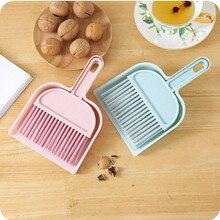 Dustpan-Set Broom Hilder-Cover Sweep-Cleaning-Brush Wooden Barrer Balai Easy Small Mini