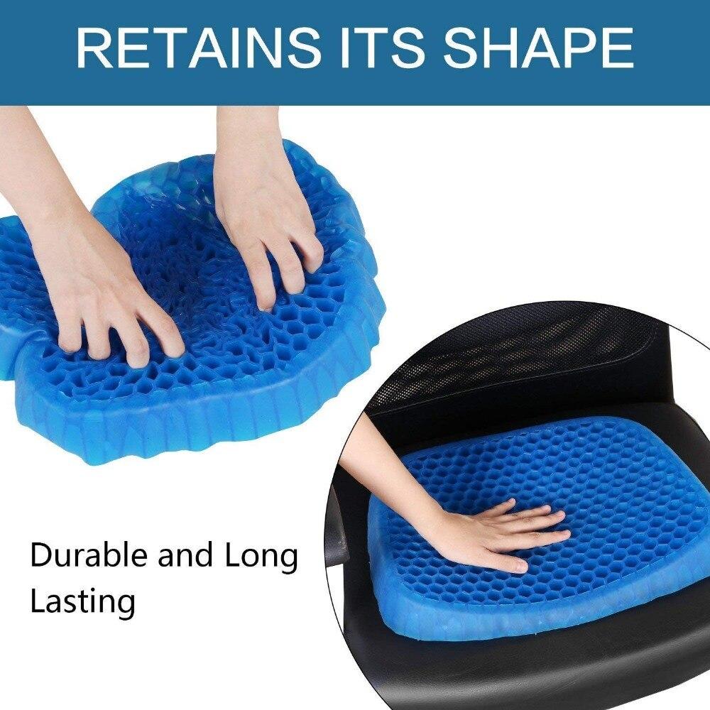 Hethrone 1PC Confortável almofada de silicone Inovadores