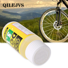 QILEJVS Bicycle Disc Brake Oil Fluid DOT Hydraulic Mineral Lubricant Mountain Bike 60ml