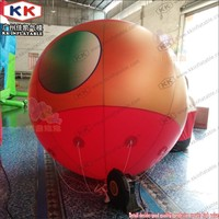 Christmas Decoration Inflatable Helium Balloon, Large Flying Snow Ball