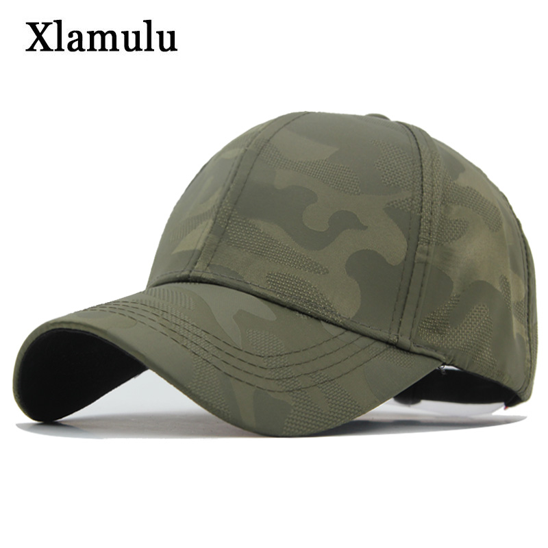 Xlamulu Camouflage Army   Baseball     Cap   Men Snapback Hats For Men Women Casual Male Trucker   Cap   Casquette Bone Gorras Dad   Caps   Hat