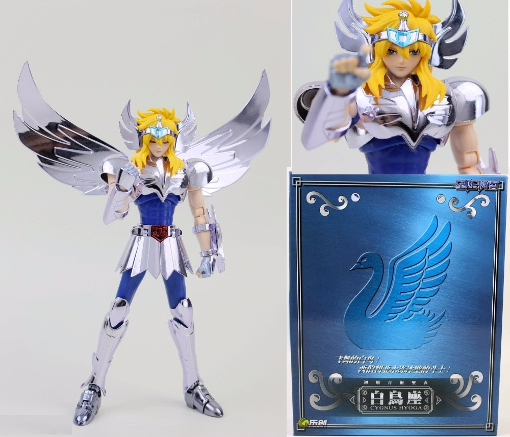 in stock Hyoga Cygnus LC model Saint Seiya Helmet Cloth Myth Bronze cloth EX V1 PVC PayPal Payment