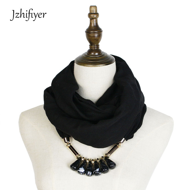 Jzhifiyer cotton scarf feminino spring neck hajibs fashion ring jzhifiyer cotton scarf feminino spring neck hajibs fashion ring shawl bandana plain neck scarf pendant jewellery aloadofball Choice Image